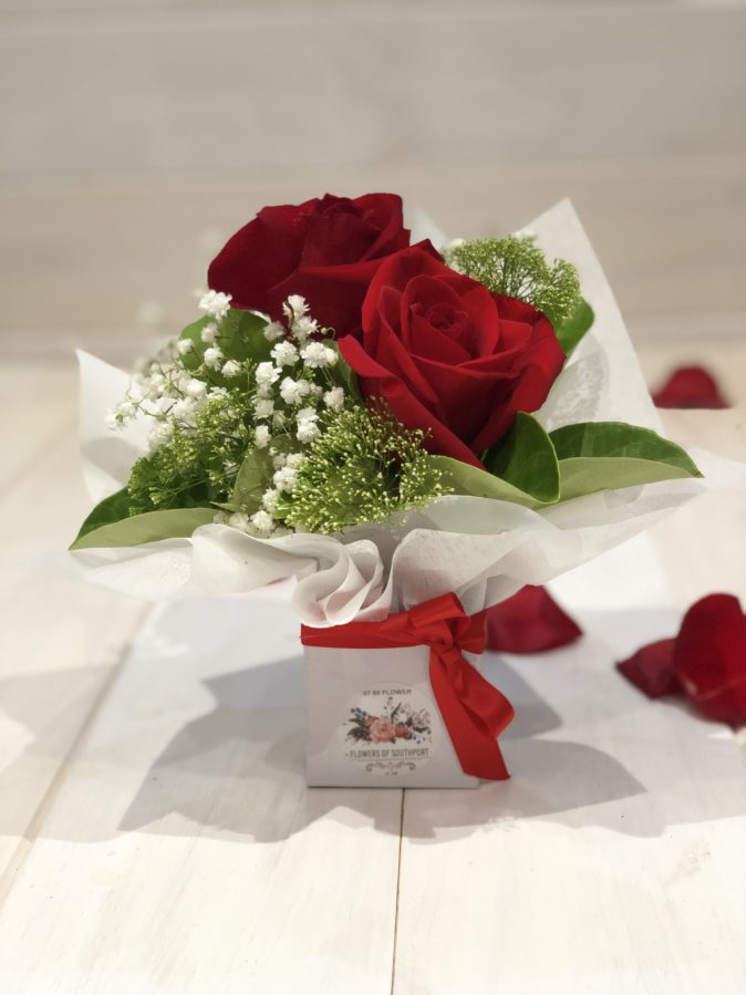 Ufere Two Mini Roses Florist Southport